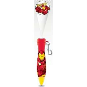 Iron Man    Marvel Logo Light Projector Pen Toys & Games