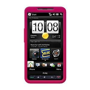 Hard Case for T Mobile HTC HD2 (Hot Pink) Cell Phones & Accessories