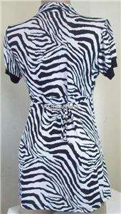 New Womens Maternity Clothes Black White Zebra Stripes Shirt Top