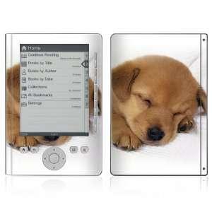 Sony Reader Pocket Edition PRS 300 Vinyl Decal Skin   Animal Sleeping
