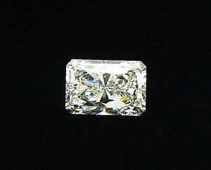 2ct Radiant Emerald Cut Diamond GIA Certified I SI 1