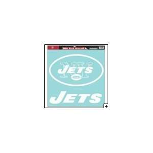 New York Jets 18x18 Die Cut Decal