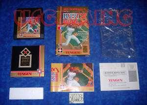 NES Nintendo Game R.B.I. BASEBALL 3 III   COMPLETE   Condition 9/10
