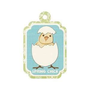 Memory Keepers   Cotton Tail Collection   Embossed Tags   Spring Chick
