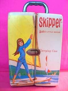 VINTAGE BARBIE SKIPPER DOLL SAILING CASE 1965 HTF