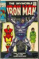Invincible Iron Man #12 April 1969 Very Fine