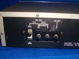 TECHNICS FM/AM STEREO TUNER ST S26