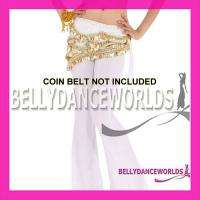 SEXY BELLY DANCE COSTUME FLARE LEG STRETCH PANTS 7COLOR