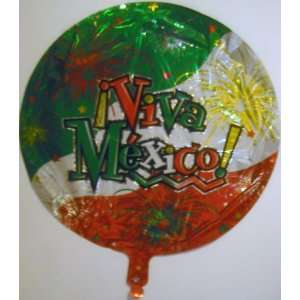 VIVA MEXICO! 18 Mylar Balloon Everything Else