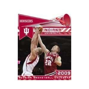 INDIANA HOOSIERS 2009 NCAA Monthly 15 X 12 MUSICAL WALL