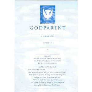 Godparents Card (Boy) (Baptism Gift Stat/Contemporary