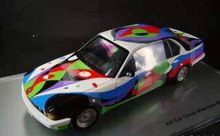 Dealer Ed 1:18,BMW ART Car,BMW 730I E32,Free shipping