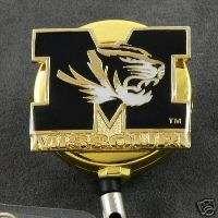 University of Missouri Logo Retractable Badge ID Holder