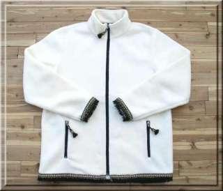 New TUNDRA WOMENS White FLEECE JACKET XL