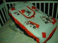 Baby Nursery Crib Bedding Set w/Detroit Tigers fabric |