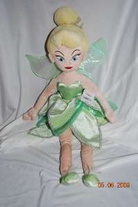 Tinkerbell Plush Doll Fairies Large 20