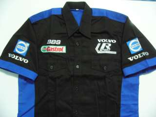 VOLVO AUTO MOTOR SPORT TEAM RACING PIT SHIRT M 5XL
