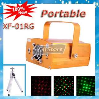 New Mini Laser Stage Light X 01RG 5W Red&Green Light for DJ CLub or