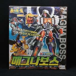 Transformers Beast Wars Magnaboss X 4 Megazord action figures Mint