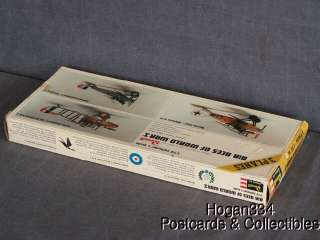 Vintage Revell Air Aces Of World War I Airplane Models 1/72 Scale