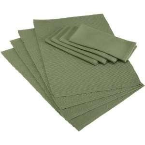 DII Vineyard Green Table Linen Set