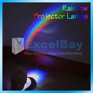 LED Lamp Night Room Romantic Rainbow Projector Light Room Decoration