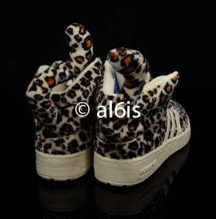 Adidas Jeremy Scott JS Leopard V24536 Wings 2.0 Denim Bear Womens