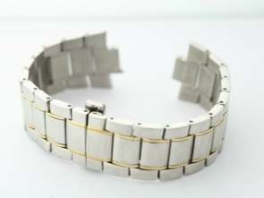 Seiko 22mm Two Tone Stainless Steel Watch Band 6.5