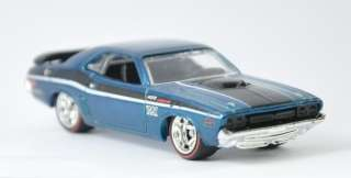 2012 Hot Wheels Custom 71 Dodge Challenger Hidden Super Treasure Hunt