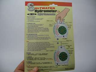 Product name  Saltwater Hydrometer & Digital Thermometer (R 10)