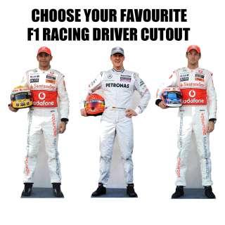Racing Driver LIFESIZE CARDBOARD CUTOUT STANDEE STANDUP PRIX FORMULA 1