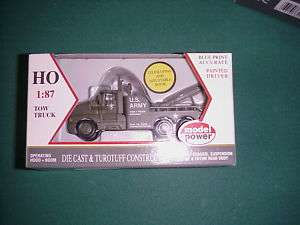 Model Power HO 1/87 #30006 US Army tow truck