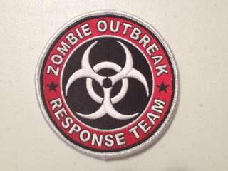 Resident Evil Zombie Outbreak Response Team Biohazard Embroidered