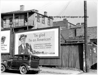 1940 DUBUQUE IOWA DEPRESSION STREET SCENE PHOTO