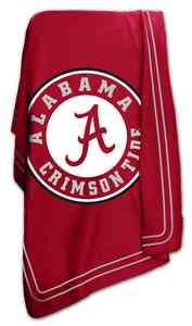 University of Alabama Crimson Tide Fleece Throw Blanket