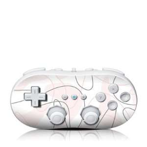 Boomerang Pink Design Skin Decal Sticker for the Wii