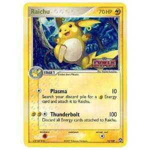 Pokemon EX Power Keepers #12 Raichu Holofoil Card [Toy