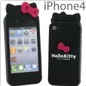 Hello Kitty Silicon Case Cover for Apple Iphone 4 4gs
