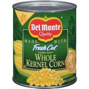 Del Monte Corn Whole Kernel Golden Sweet Grocery & Gourmet Food
