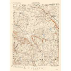 USGS TOPO MAP BERNE QUADRANGLE NEW YORK (NY) 1903: Home