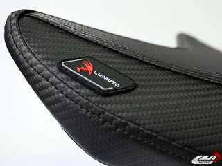 2011 Carbon Fiber Look ZX 10R Sportbike Seat Cover Set