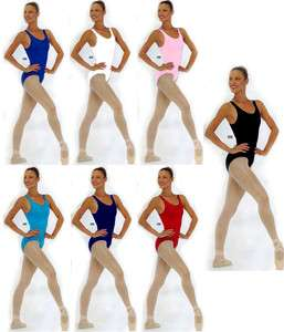 Shiny Lycra Star Styled Sleeveless Scoop Neck Tank Top Style Dance