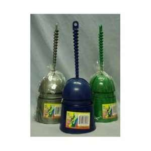 Toilet Brush with Dome Cover Assorted Colors Case Pack 36
