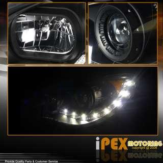 06 07 Subaru Impreza WRX STI BLACK LED/SMD DEVIL EYE Projector Head