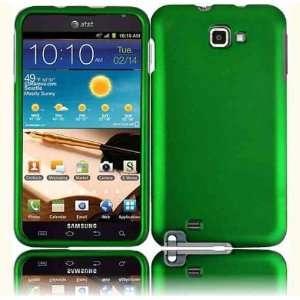 VMG Samsung Galaxy Note 3 ITEM COMBO Hard Case Cover   DARK GREEN Hard