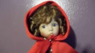 Little Red Riding Hood Dianna Effner Doll EDWIN KNOWLES