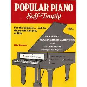 Popular Piano Self Taught Win Storem Books