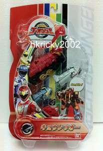 Bandai Go onger Kyouretsu Oh Power Rangers RPM PaleoMax Megazord Mini