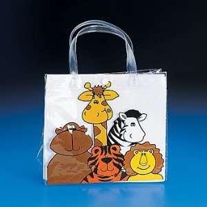Zoo Animal Vinyl Tote Bags   12 per unit Toys & Games