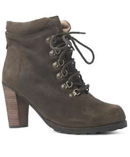 Truffle (Brown) Suede Hiking Boots  225881924  New Look